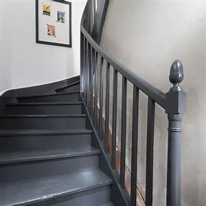 peinture pour monte descalier pour une dco monte With good peindre des escaliers en bois 0 peindre un escalier 5 idees qui vont vous inspirer