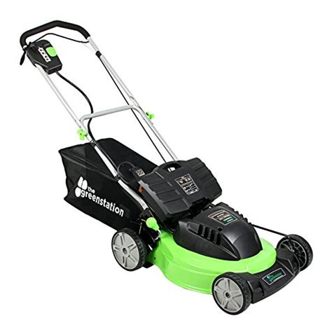 The Greenstation Lawn N2 19″ Self Propelled Cordless 24
