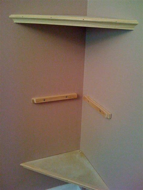 corner floating shelf build a corner wall shelf woodworking projects plans
