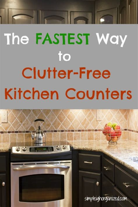 how to organize kitchen counter clutter 5 simple ways to declutter your kitchen counters 8769