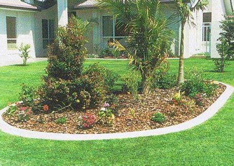 Garten Design, Landschaftsbau, Randsteine Garten
