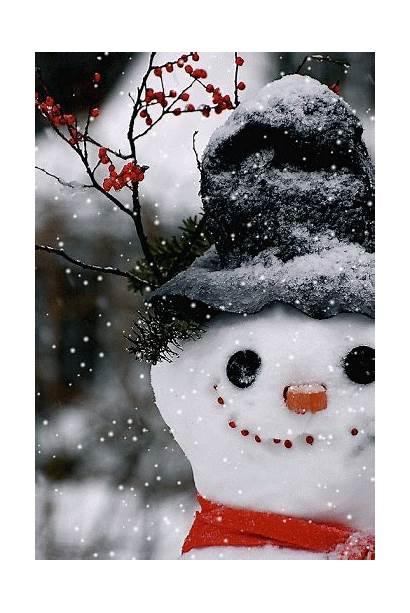Christmas Winter Frosty Canalblog Snowman Gifs