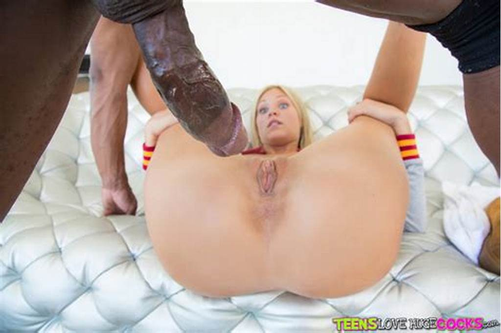 #Young #Blonde #Girl #Scarlet #Red #Takes #Bbc #In #Shaved #Cunt #And