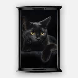 black cat coffee black cat trays black cat decorative tv food serving trays