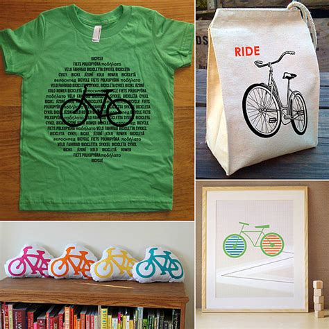bicycle themed clothing  decor  kids popsugar moms