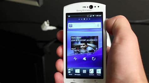 sony ericsson xperia software update features