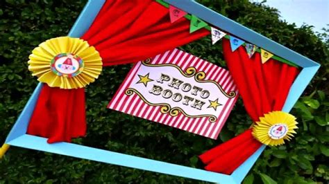 Diy Carnival Party Decor Youtube