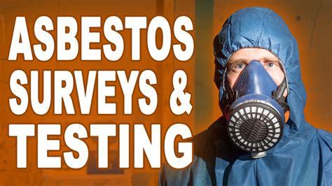 asbestos survey testing sampling  analysis  enviraz
