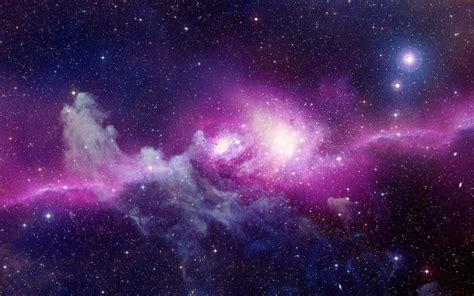 Purple Stars Galaxy Purple