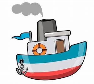 clipart boat cartoon - Clipground