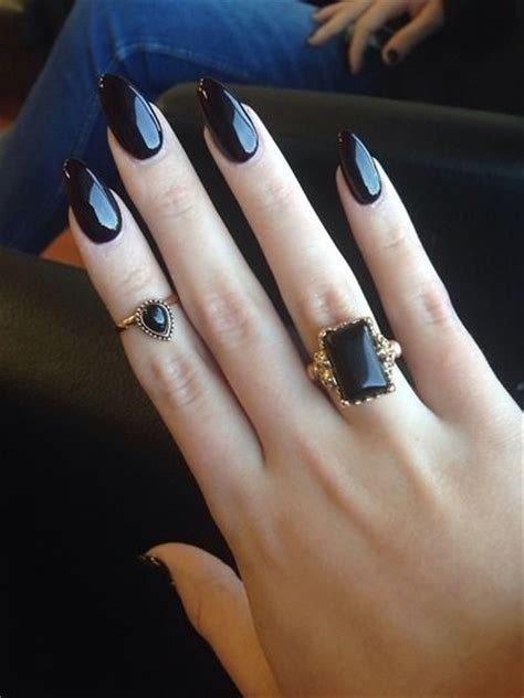 beautiful dark nail polish ideas glam radar