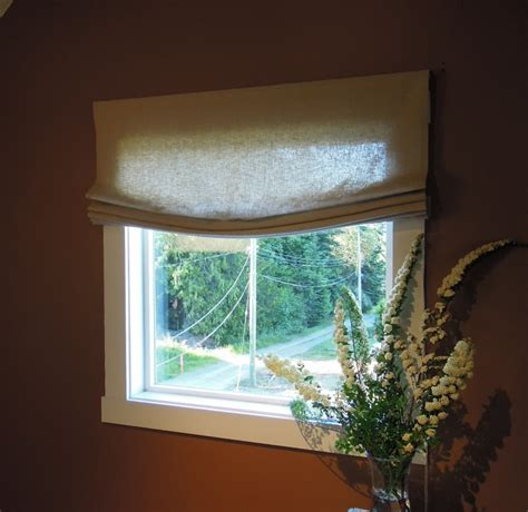 relaxed roman shades  nikkidesigns