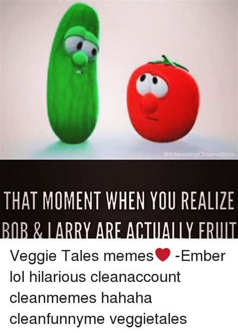 Veggie Tales Memes - 25 best memes about veggietales veggietales memes