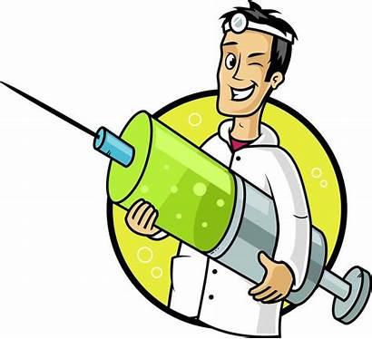 Vaccine Clip Vaccination Clipart Vaccinate Vector Cartoon