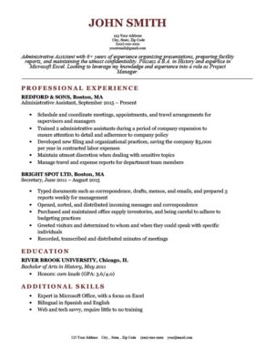 expert preferred resume templates basic simple resume genius
