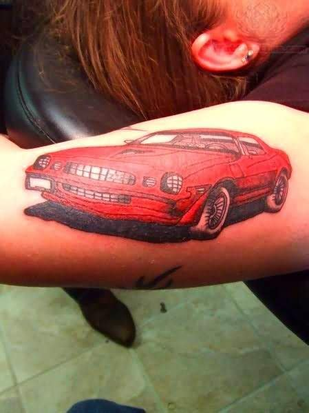 camaro tattoo images designs