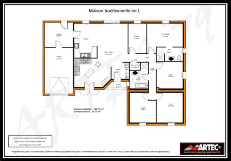 maison 3 chambres plain pied plans de maisons constructeur deux sèvres