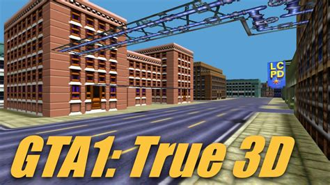 Grand Theft Auto 1 Map In Full 3d