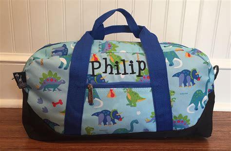 Personalized Boys Luggage Customs Kids Duffle Bag Dino ...