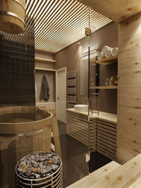 Spa Style Bathroom by Modern Feature Rich House In Moscow