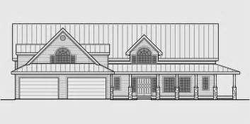 country house plans with porches a frame house plans with steep rooflines
