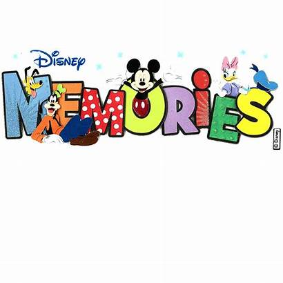 Memories Clipart Disney Title Sticker Scrapbook Stickers