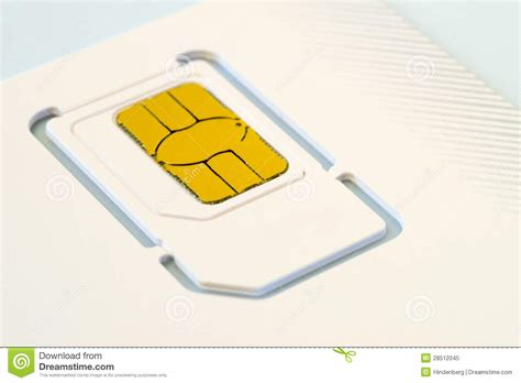 sim card stock image image  macro card smart mobile