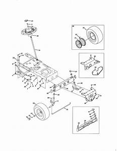 Mtd Model 13a2775s000 Lawn  Tractor Genuine Parts