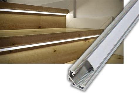 Stufenbeleuchtung Außen by Ledscom De Led Treppen Licht Stufenbeleuchtung Eckig