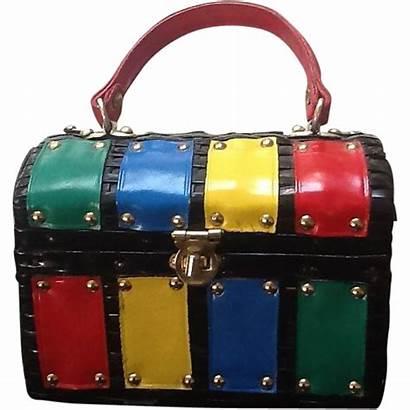 Purses Mod 1960s Purse Wicker Rubylane Bags