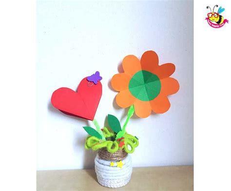 origami per bambini fiori fiori origami facili per bambini lavori creativi