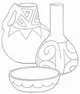 Tipi sketch template