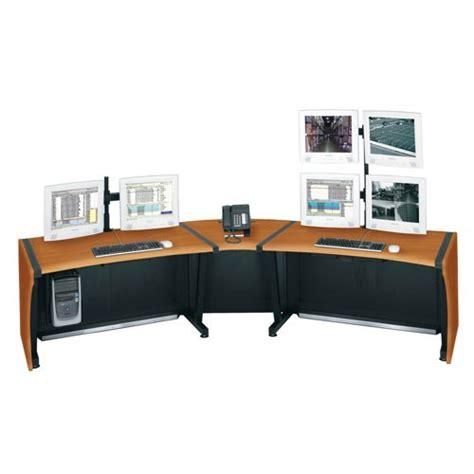 middle atlantic desk middle atlantic lcd monitoring command desk