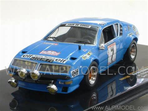 ixo-models Alpine Renault A310 #7 Tour de Corse 1974 ...