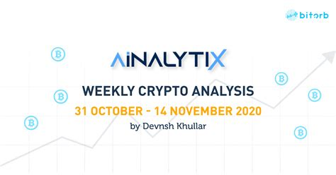 It's a new year, and this means that last year's calendar and tax year have come to a close, and it's time once again to start tallying up your crypto holdings, gains, and losses, to figure out exactly what you need to report to the irs in order to comply legally with your obligation as a taxpayer. Weekly Cryptocurrency Analysis - 31 October to 14 November ...
