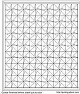 Quilt Block Coloring Pattern Crazy Template Quilting sketch template
