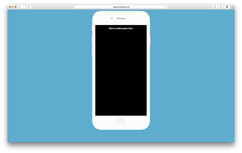 Iphone Template Iphone Demo Template Readme Md At Master 183 Ssokurenko
