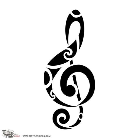 tattoo tribes dai forma ai tuoi sogni tatuaggi  significato musica nota chiave