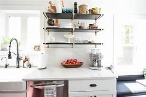 Kitchen, Shelf, Styling, -, Kitchen, Design, Tips