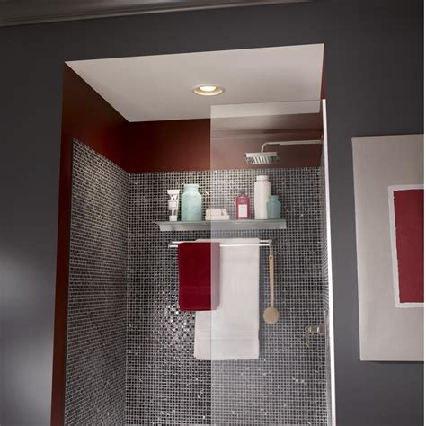 broan recessed fan  led light combo  bathroom