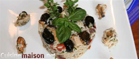 cuisiner les poulpes salade de poulpes et de moules