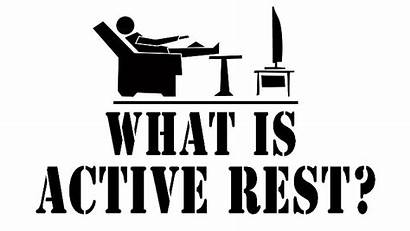Rest Active Exercise Sportswave Mean Does