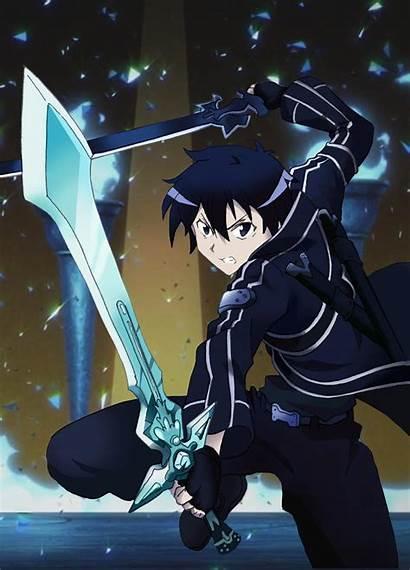 Kirito Dual Wield Sword Sao Kun Weild