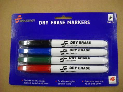 Dry Erase Marker Fine 4pk (ability One)