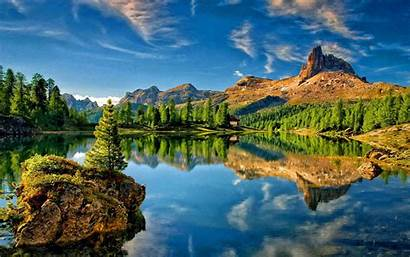 Resolution Desktop Wallpapers Sky Mountain Reflection Lake