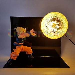 dragon ball z son goku table lamp luminaria led nightlight With dragonball z table lamp