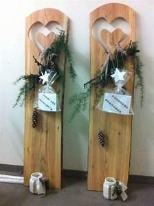Holz Dekoration Modern : holzbretter weihnachtlich diy tolle sachen aus holz weihnachten holz weihnachtsdeko ~ Watch28wear.com Haus und Dekorationen
