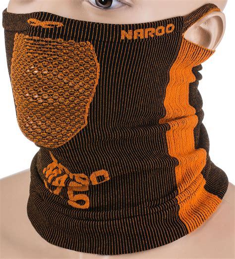 Maska treningowa, komin X5 25cm Naroo Mask (czarno-pomarańczowa) - sklep Sport-Shop.pl