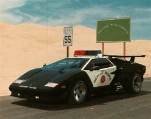 Cool custom Lamborgini cop car picture