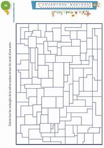coloriage magique 3 rectangles et carres coloriage With les couleurs grises 5 carres magiques